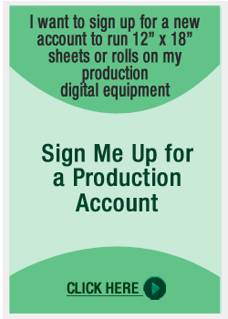 Sign Up for Production Account